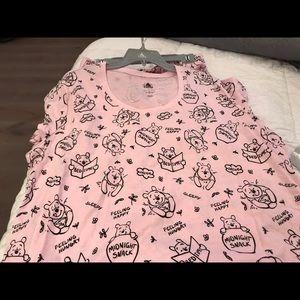 NWT Disney Store Winnie the Pooh PJs